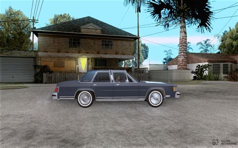free car manuals to download 1986 mercury marquis engine control mercury grand marquis ls 1986 for gta san andreas