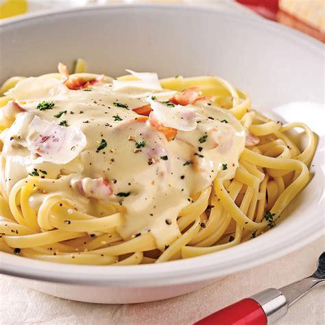 sauce cuisine sauce carbonara express recettes cuisine et nutrition