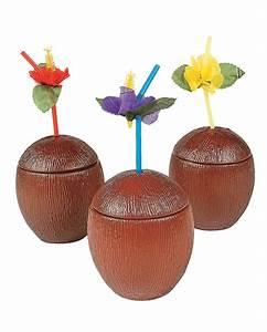 Deko Karton Mit Deckel : kokosnuss cocktail becher mit deckel f r strandparty horror ~ Frokenaadalensverden.com Haus und Dekorationen