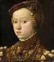 Portrait of Anna of Austria (1528-1590), Duchess consort ...