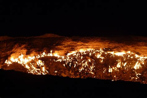 The Door To Hell A Burning Natural