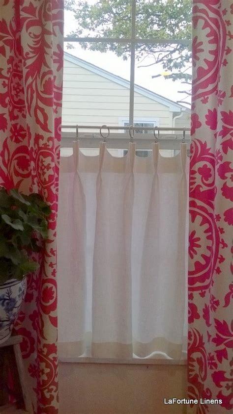 beautiful linen cafe curtains  windows homesfeed