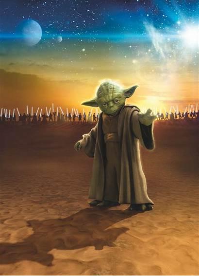 Yoda Wars Master Komar Jedi Poster