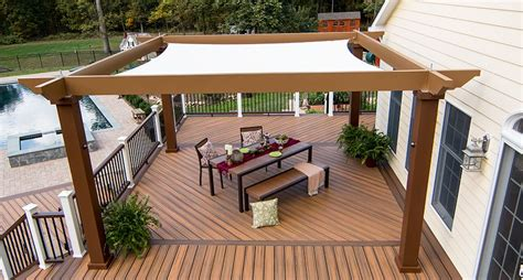 tensioned shade sail pergola canopy our tensioned shade sail canopy provides sun protection