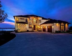 Lakefront, Luxury, Home, In, Ontario, U2013, Stact, Wine, Racks