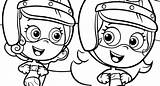Bubble Guppies Coloring Molly Pages Drawing Sheets Clipartmag sketch template