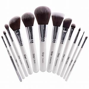 Buy Masterful Collection Pearlescent White Makeup Brush