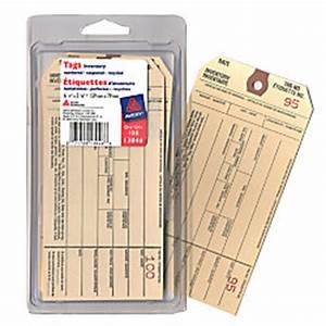 Avery inventory tags pack of 100 by office depot officemax for Avery inventory labels