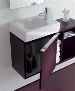 Kleines Waschbecken Mit Unterschrank Für Gäste Wc : waschtischunterschrank f rs g ste wc my lovely bath magazin f r bad spa ~ Watch28wear.com Haus und Dekorationen