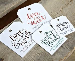 24 pre printed favor tags for wedding favors dinners With how to make wedding favor tags