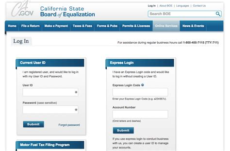 How To File A California Sales Tax Return