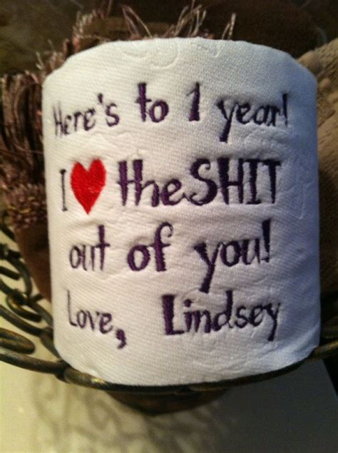 custom embroidered toilet paper  st paper