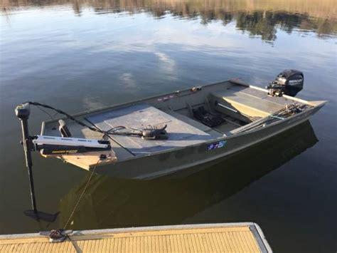 Mod V Jon Boat Trailer by Lowe 1448 Mod V Jon Boat W Newer Mercury 20hp Fair Oaks
