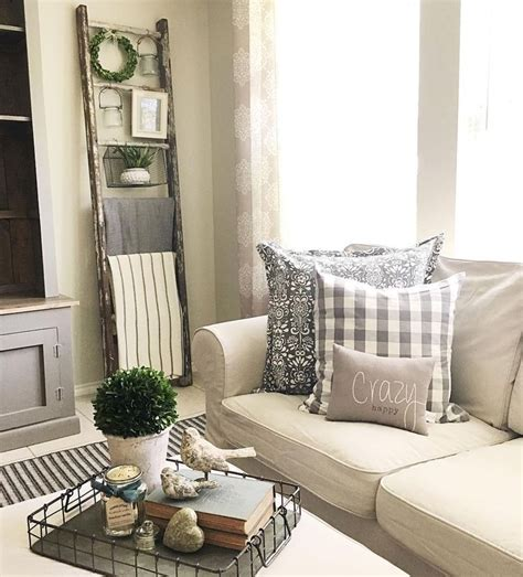 80 Cozy Farmhouse Living Room Decor Ideas - insidecorate.com
