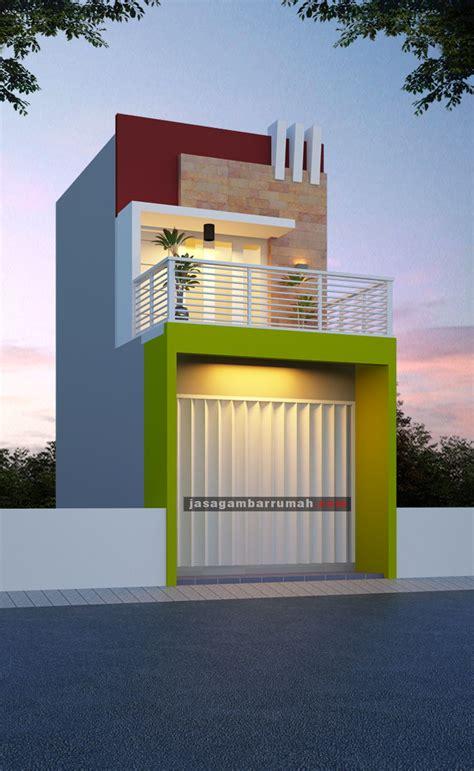 ide desain rumah toko minimalis