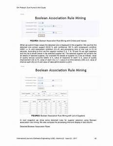 A Supplier Selection Criteria Using Boolean Association ...