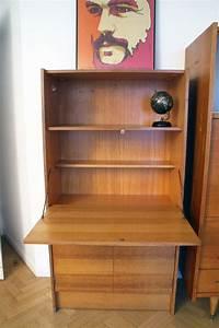 Bureau Secretaire Vintage : secr taire bureau vintage style scandinave ann es 50 ~ Teatrodelosmanantiales.com Idées de Décoration