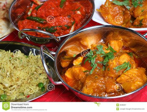 curry cuisine indian curry meal food royalty free stock photography