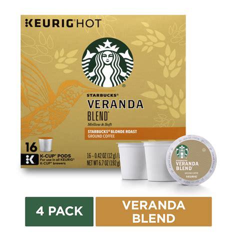 The best tasting keurig coffee pods. Starbucks Veranda Blend K-Cup Coffee Pods for Keurig Brewers, Blonde Roast, 4 Boxes of 16 (64 ...