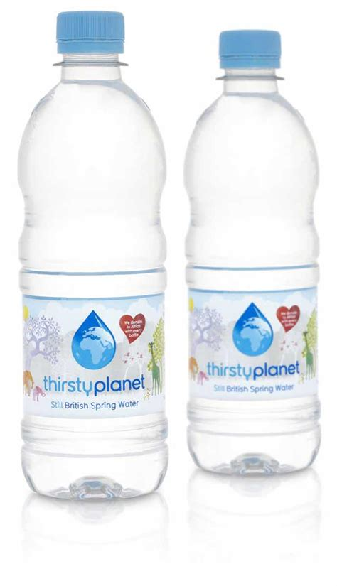 Charity Water Thirsty Planet Relaunch  Foodbev Media
