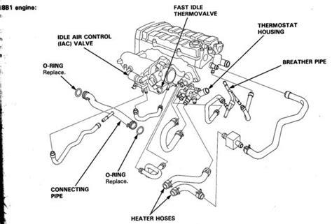95 Acura Integra Engine Wiring Diagram by Acura Rsx Engine Hose Diagram Downloaddescargar