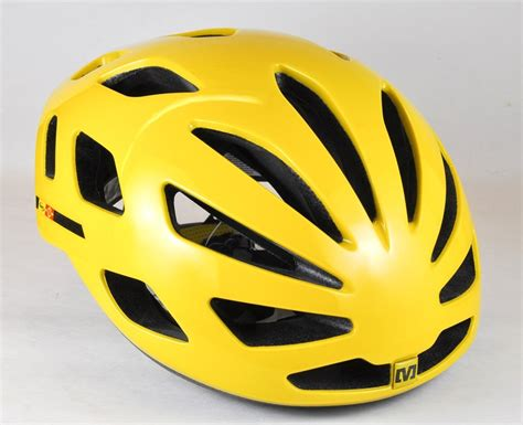 mavic cxr ultimate helmet yellow