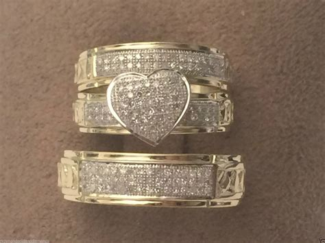 wedding rings sets for him and 15 best collection of cheap wedding bands for 1067