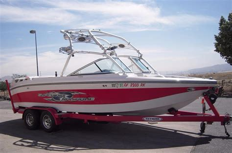 Nautique Wakeboard Boats For Sale by 2006 Used Correct Craft Air Nautique 220 Team Ski And