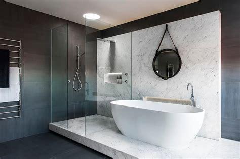 Award Winning Bathroom Designs by Award Winning Monochromatic Bathroom By Minosa Design
