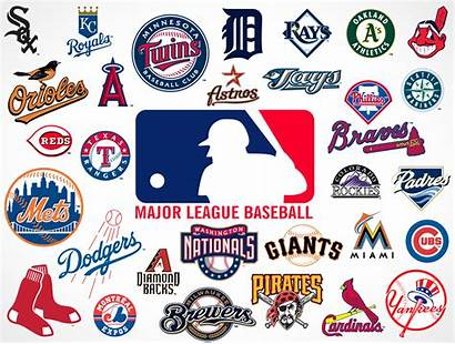 Logos Baseball Team League Major Vector Mlb