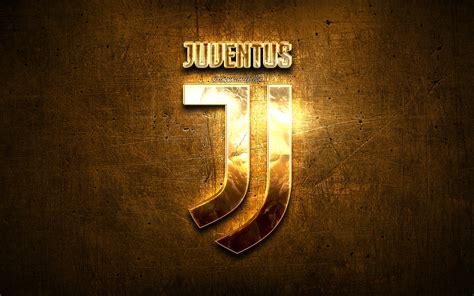 Scarica sfondi Juventus logo dorato, fan art, Juve, Serie ...