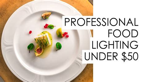 budget professional lighting  food photography works