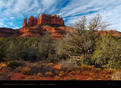 Sedona Arizona Rock Cathedral Morning Canyon Grand