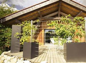 Treillage Plante Grimpante : jardiniere design ~ Dode.kayakingforconservation.com Idées de Décoration
