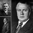 Franz Josef Popp (right), Karl Rapp (upper left), and ...