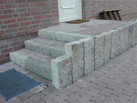 hauseingang gestalten granit gestalten mit granit