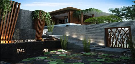 architecture portfolio bali modern balinese organic house