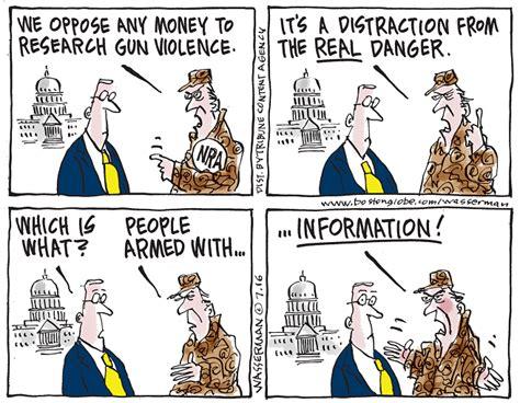 gun control  gun rights cartoons  news opinion