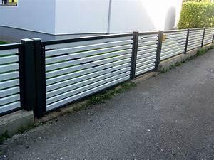 Aluminium Zaun Modern : sichtschutz aluminium pulverbeschichtet die neueste ~ Articles-book.com Haus und Dekorationen