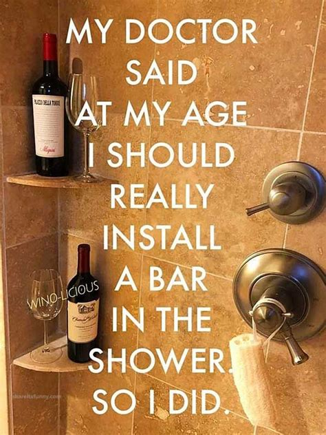 My In The Shower by Shower Bar Pictures Quotes Jokes