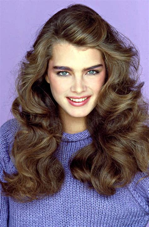 Easy 80s Hairstyles by Shields With 80s Bushy Brows I Had