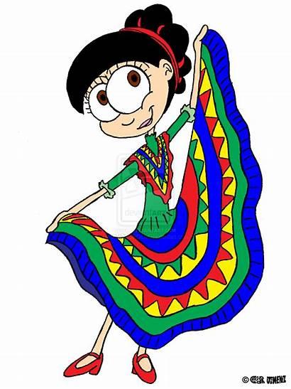 Mexican Clipart Dance Clip Dancers Kid Dancing