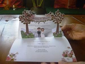 wedding pop up invitations pop up occasions With wedding invitation pop up card bride and groom