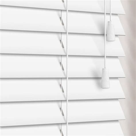 white faux wood blinds white faux wood venetian blinds ideal for bathroom kitchen