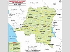Democratic Republic of the Congo Road Map DR Congo Road Map