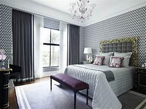 Schlafzimmer Design Grau : coole gardinen ideen f r sie 50 luftige designs f rs moderne zuhause ~ Markanthonyermac.com Haus und Dekorationen