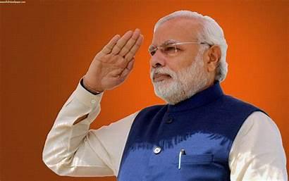 Modi Narendra Wallpapers Minister Prime India