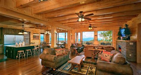 Open Cabin Hearthside Cabin Rentals