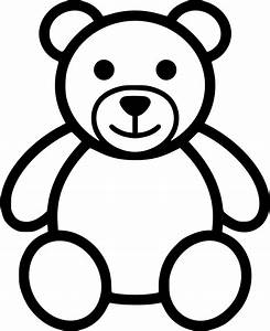 Teddy Bear Svg Png Icon Free Download (#554214 ...