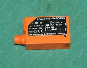 Ifm  Oj5022  Efector Photoelectric Sensor Ojb So  As 0j5022 New